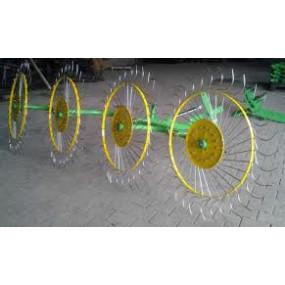 Грабли-ворошилки BOMET 4 колеса